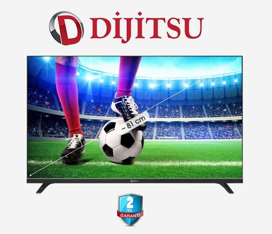 Bim Dijitsu 32 Inç Uydu Alıcılı Smart TV