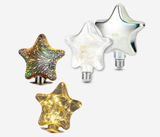 Bim Dekoratif Yıldız Ampul