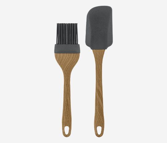 Bim Silikon Uçlu Fırça ve Spatula Seti