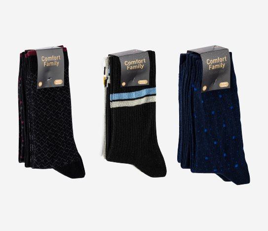 Bim 3'lü Soket Çorap Erkek