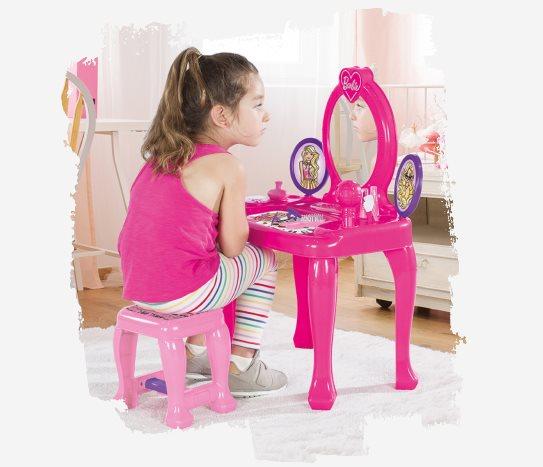 Bim Barbie Güzellik Masası ve Aksesuarları
