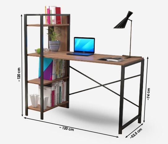 Bim Kitaplıklı Çalışma Masası