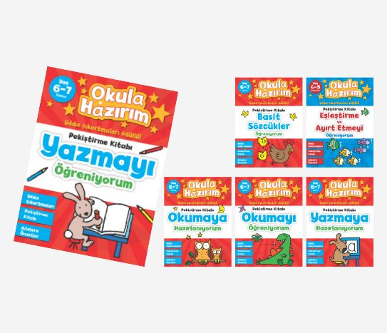 Bim Okula Hazırım Faaliyet Kitapları