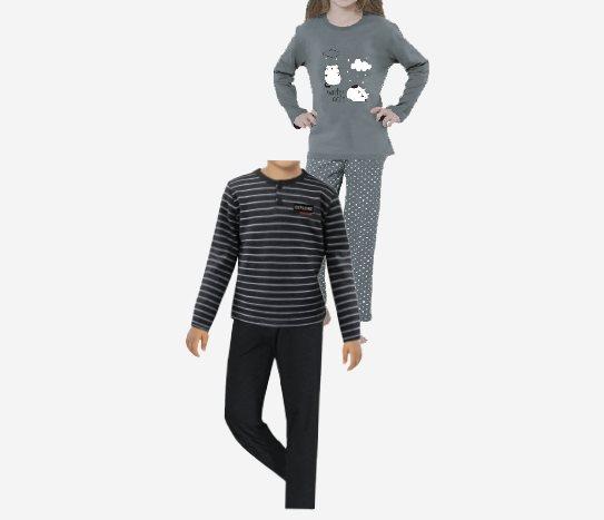 Bim Pijama Takımı Kız-Erkek Çocuk