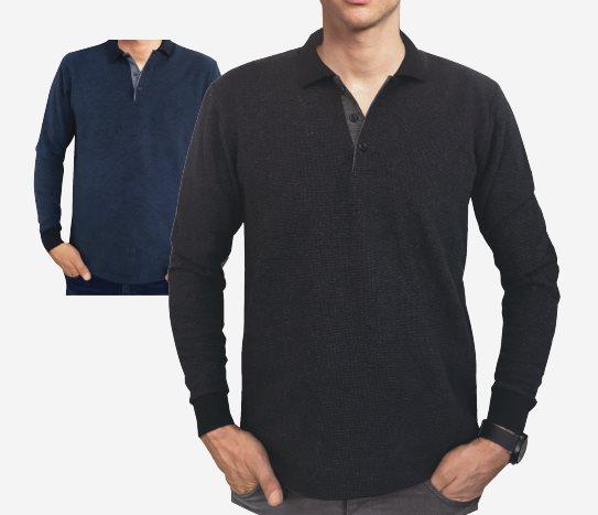 Bim Polo Yaka Erkek Sweatshirt