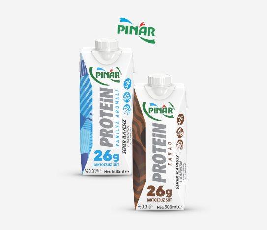 Bim Proteinli Laktozsuz  Süt